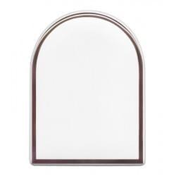 Kolorowe prostokątne zdjęcie porcelanowe z białym paskiem