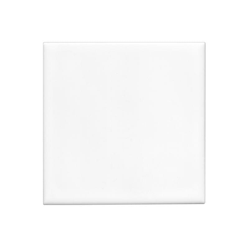 Zdjecie porcelanowe kwadratowe z białym paskiem