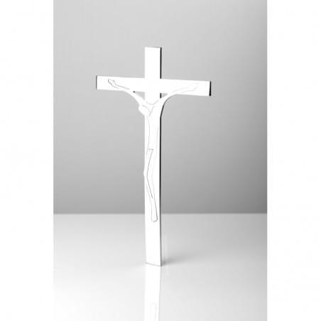 Fotografia nagrobkowa prostokątna w sepii z białym paskiem