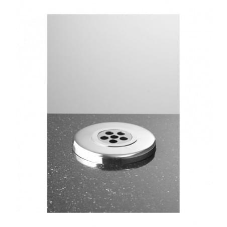 Zdjęcie nagrobkowe serce proste czarno-białe z białym paskiem