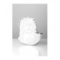 Fotoceramika w sepii kopułka z białym paskiem